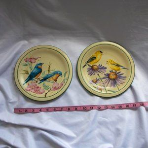 Lenox Summer Greetings Salad Plate Birds